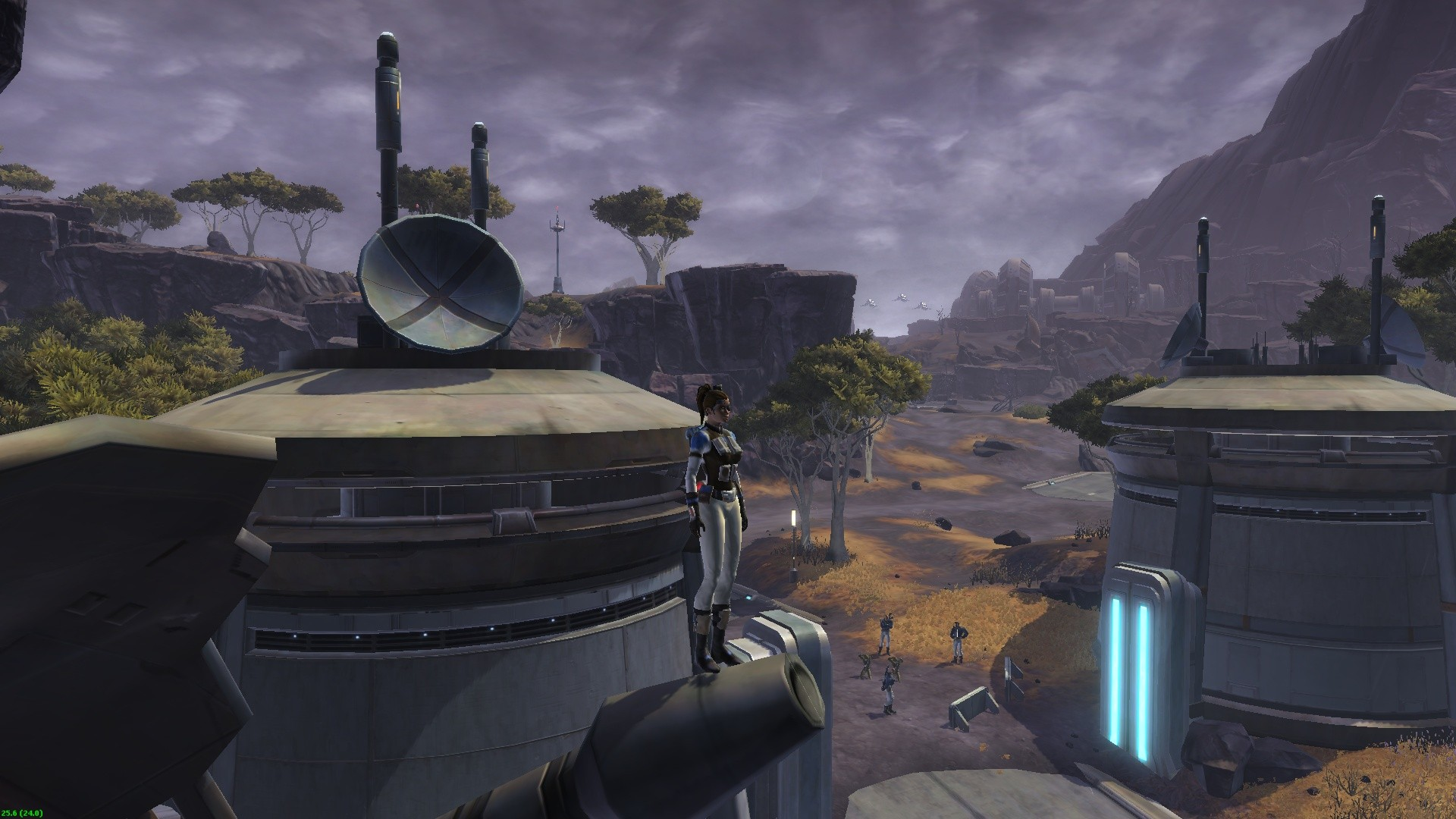 Star Wars: The Old Republic - My trooper on Ord Mantell