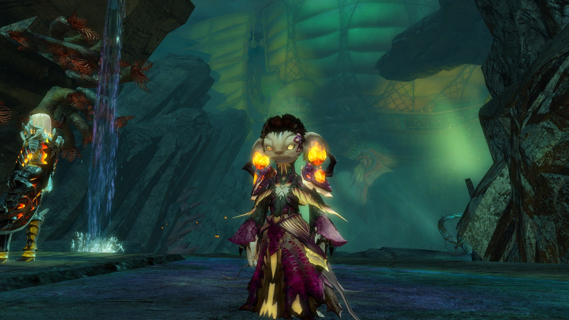 GW2-My Elementalist Asura entering the final Battle!