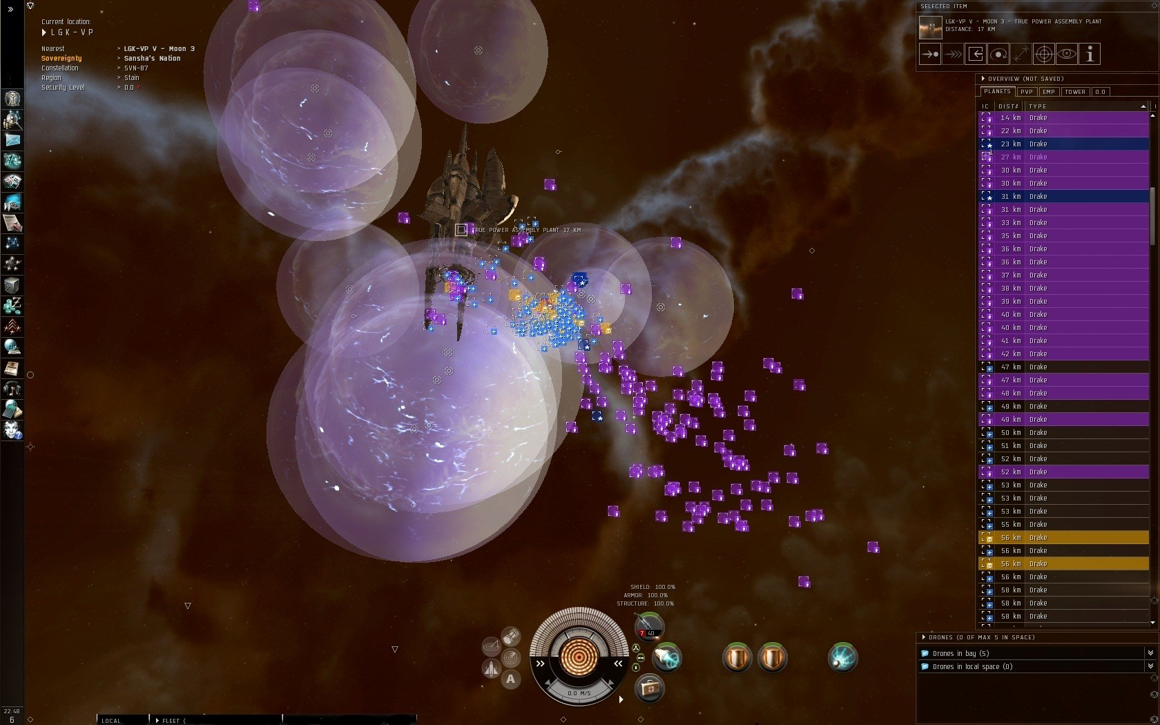EVE Online - pew pew... actualy... dead boring...