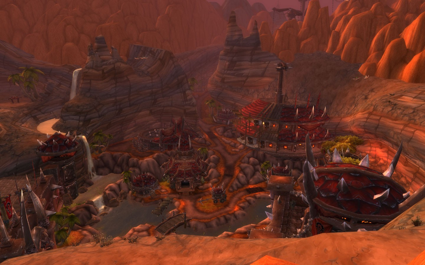 World of Warcraft - Aerial View of Orgrimmar