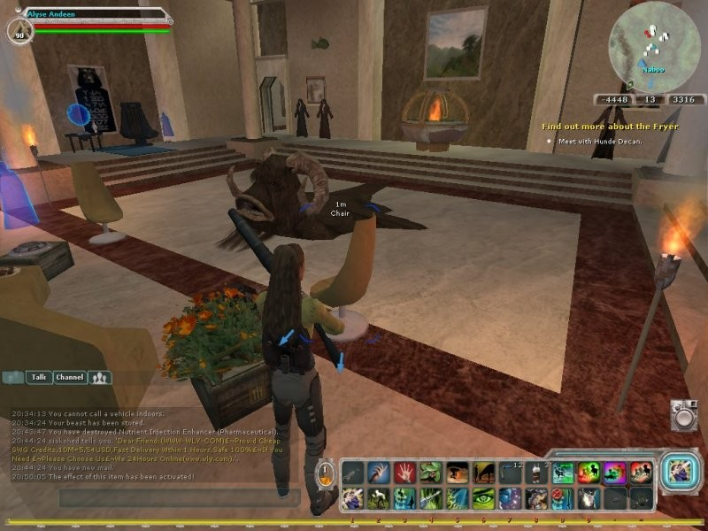 Star Wars Galaxies - 2011 Gonna miss the Money Pit.  Can't take it with you. sigh.