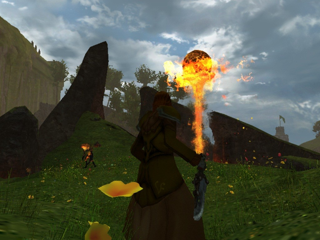 Guild Wars 2 - GIANT FLYING ORB OF FIRE!
