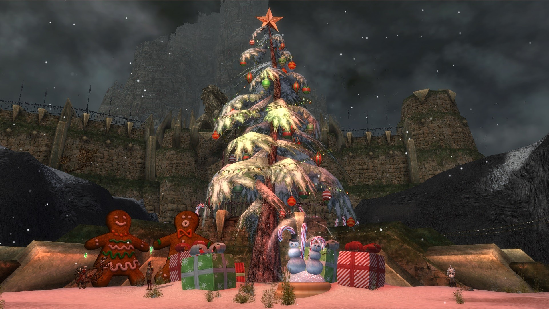 Guild Wars - Wintersday 2012 in Lion's Arch!