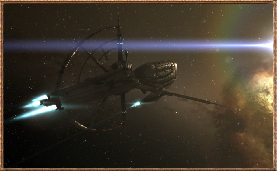 """EVE Online - My Gnosis The """"Brown Bess"""". An extremely versitile deep space exploation ship in EVE online."""