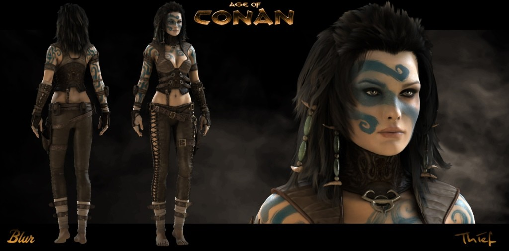 Age of Conan: Unchained - Keaira - Concept Art