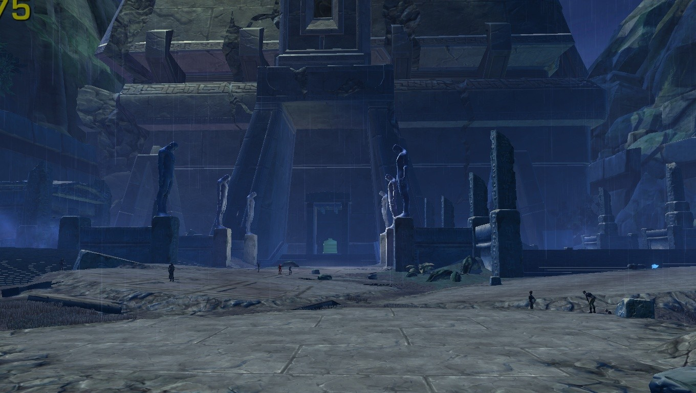 Star Wars: The Old Republic - a dromund kaas temple entrance(2)