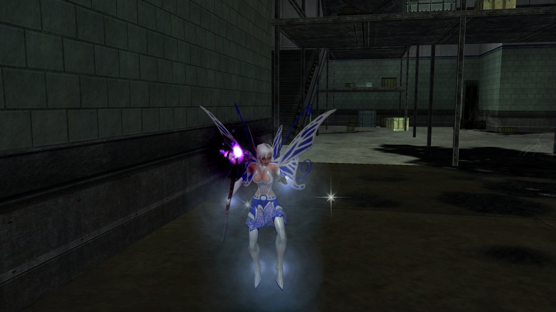 City of Heroes - Rain Stormdancer - Faerie at Large