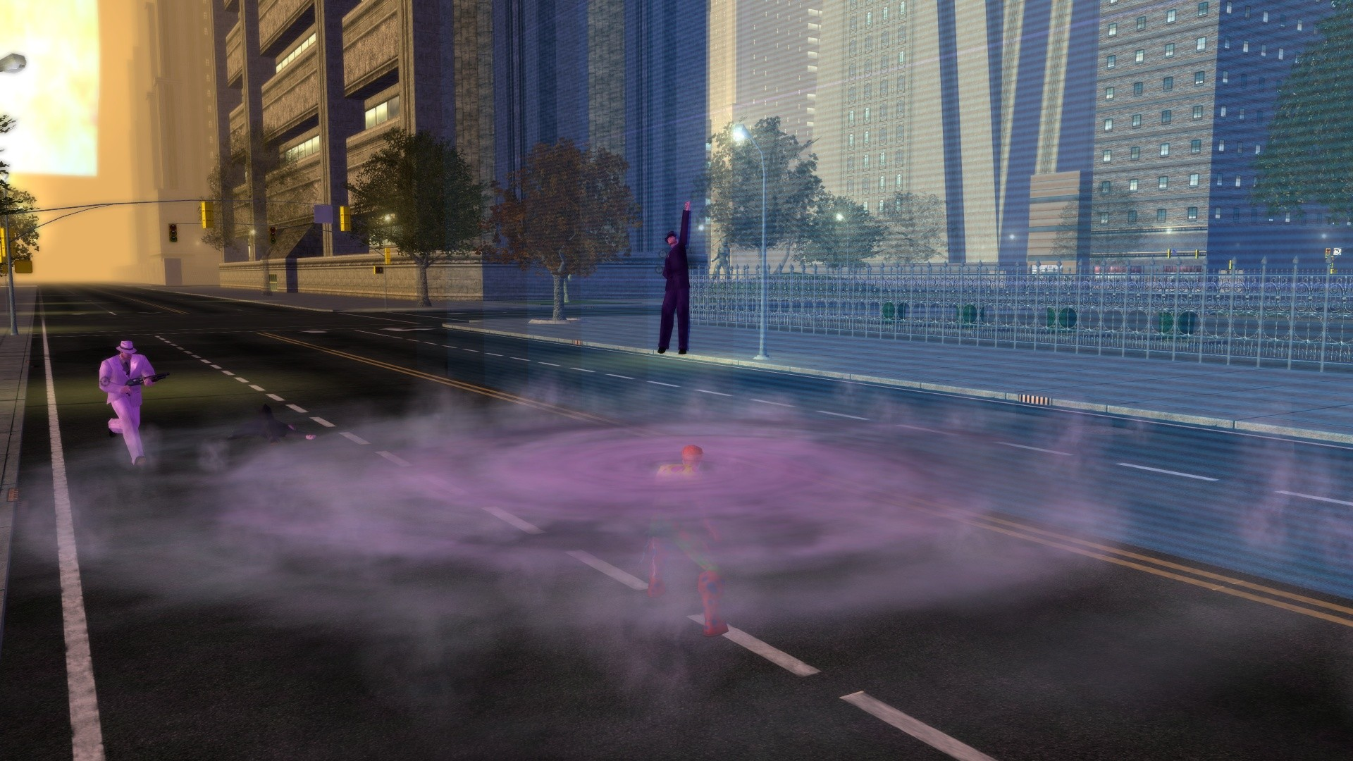 City of Heroes - Cyclown in Action
