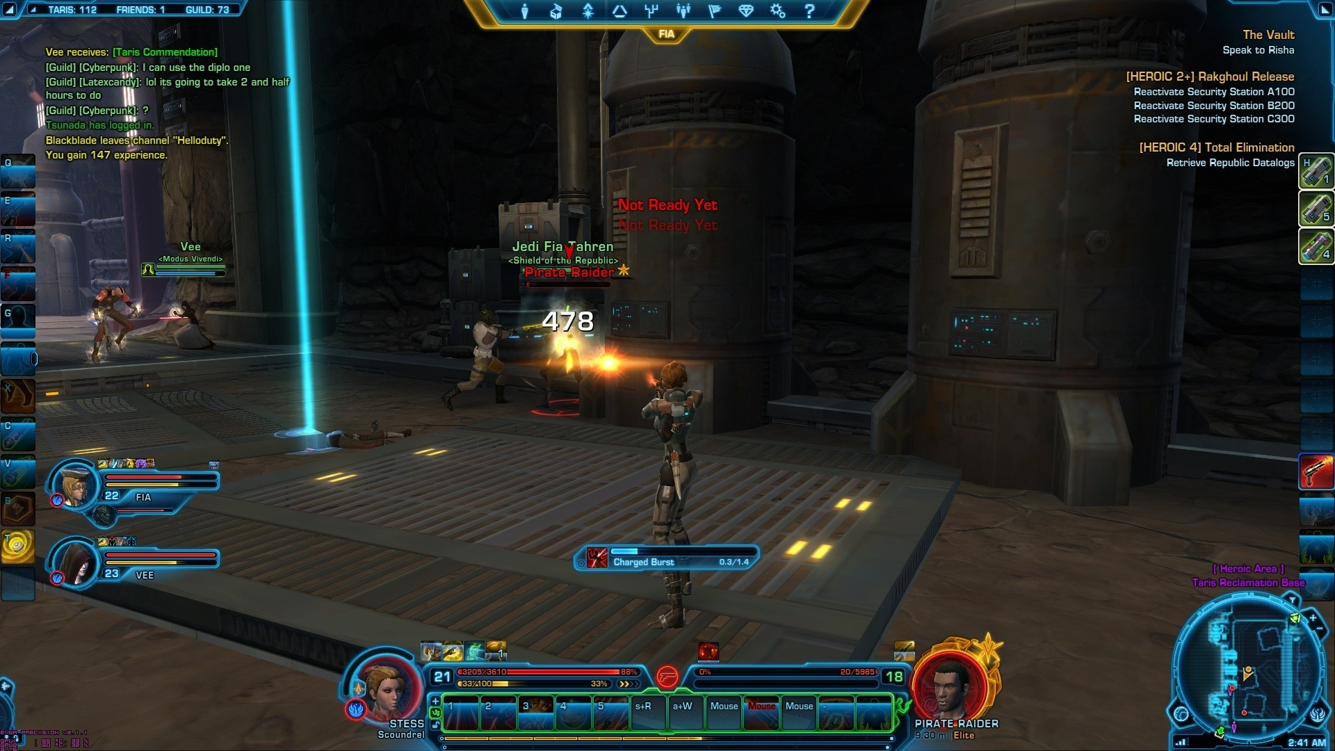 Star Wars: The Old Republic - TOR Taris Heroic 4  Action