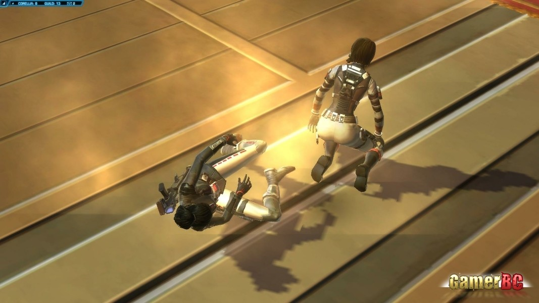 Star Wars: The Old Republic - Republic and Imperial forces clash on the world of Alderaan over control of the planet's massive planetary defence cannon in this first detailed look