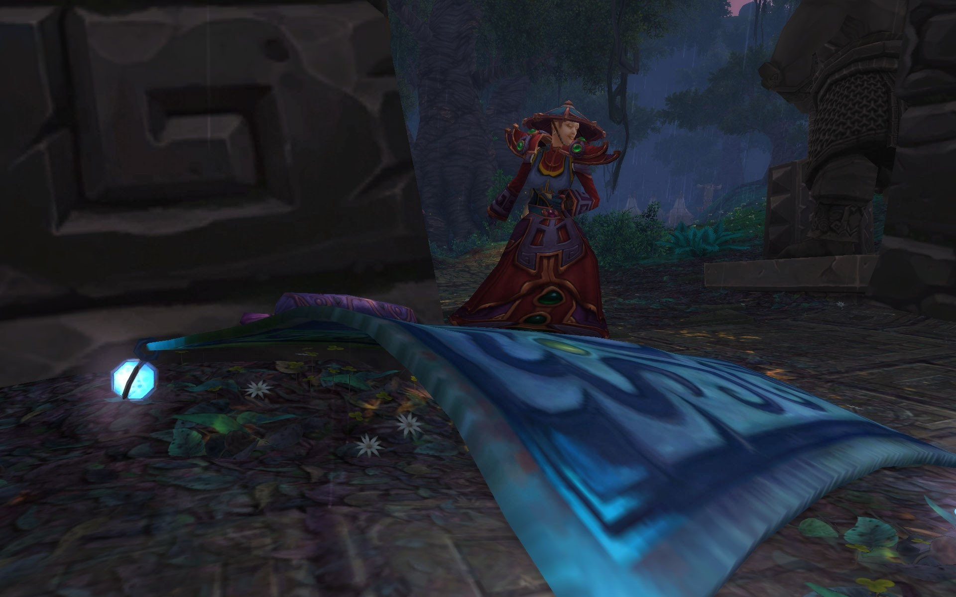 World of Warcraft - Me and my Carpet...