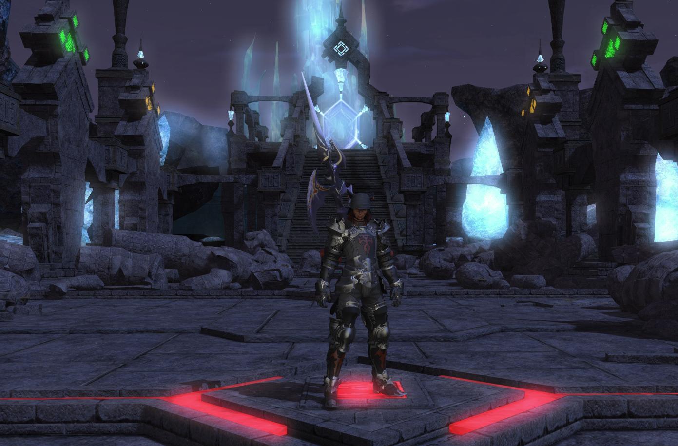 Final Fantasy XIV: A Realm Reborn - Labyrinth of the Ancients front door