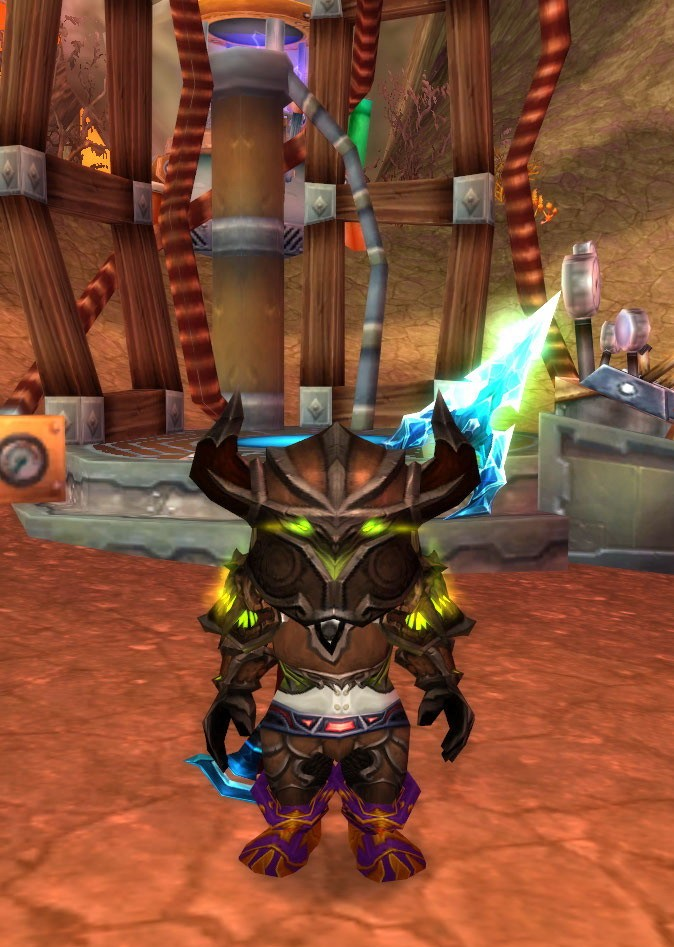 World of Warcraft - Gnome hunter