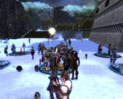 Guild Wars Nightfall - Celebrating 2009 with Rudolph masks and free Wintersday presents