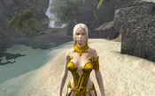 Age of Conan: Unchained - Casilda on the Beach of the Barachan Isles near Tortage