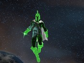 DC Universe Online - Galaxeuz above Earth in the DC Universe