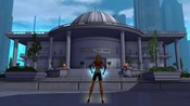 City of Heroes - Kathy Blaze hanging out at City Hall