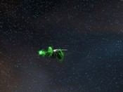 DC Universe Online - Galaxeuz - My DC character flying in space
