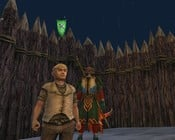 Lord of the Rings Online - Me and my sloppy companion with a bowl cut. We will protect the ring at all costs!
