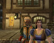 Lord of the Rings Online - My constant companion, a male elf.