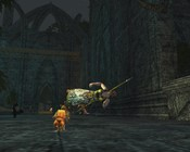 Lord of the Rings Online - Matrix combat 2.0 in Mirkwood.