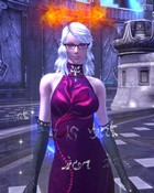 TERA - Close up of the character after the race change.