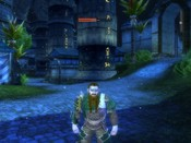 Dungeons & Dragons Online - DDO: My dwarf rogue in the Harbor, early morning...