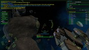 Vendetta Online - Outside i8 conquerable station with the guild