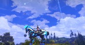 TERA - Chillaxing on the Terminus mount. Forgot to CTRL-Z, so cropped it to the center monitor.
