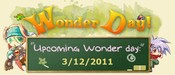 Wonder Day 031211