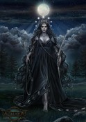 Moon Goddess Ourania - Achaea, Dreams of Divine Lands