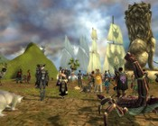 Guild Wars - Waiting for Gaile Gray (Guild Wars community manager) and the Frog's farewell party to begin