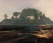 ArcheAge - player houses on an island