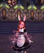 TERA - Her cuteness is so intense that it pulls souls to gather around her. ^_^