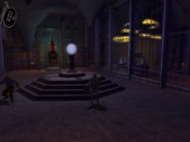 Dungeons & Dragons Online - DDO: Crafting device nearby. I love those lights, pretty atmospheric.