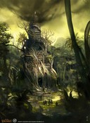 Age of Conan: Unchained - Pond of Fear Concept Art