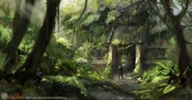 Age of Conan: Unchained - Road to Paikang Concept Art