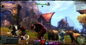 Guild Wars 2 - Mass /cry as servers go down.