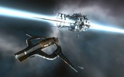 EVE Online - Shuttle and Stargate