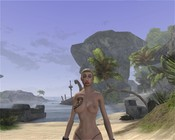 Age of Conan: Unchained - Princess Pretty's big day on the beach.