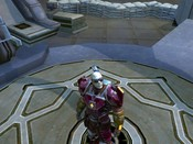 Tabula Rasa - Looking to the heavens, the ugly monster  begged that he not be banished to the MMO graveyard.