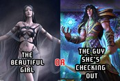 Who would you rather see everytime you boot up your MMO?
