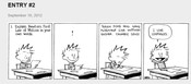 Calvin own words