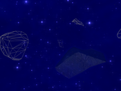 Vendetta Online - View from within a storm, with radar extender equipped