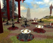 Guild Wars Factions - Playing the Lucky Rings during a festival