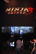Ninja Gaiden 3 booth
