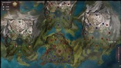 Guild Wars 2 - Beta 2 WvW map we are green