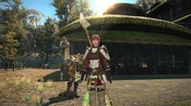 Final Fantasy XIV: Heavensward - Lancer With Chocobo Companion