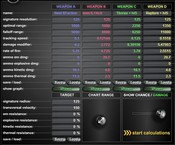 EVE Online - Input Data for the following 2 diagrams