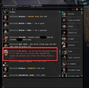 EVE Online - protests do them later